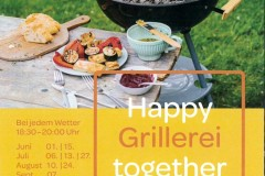 Happy Grillerei together, JUFA Gnas
