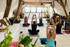 Yoga & Brunch am Obsthof Haas